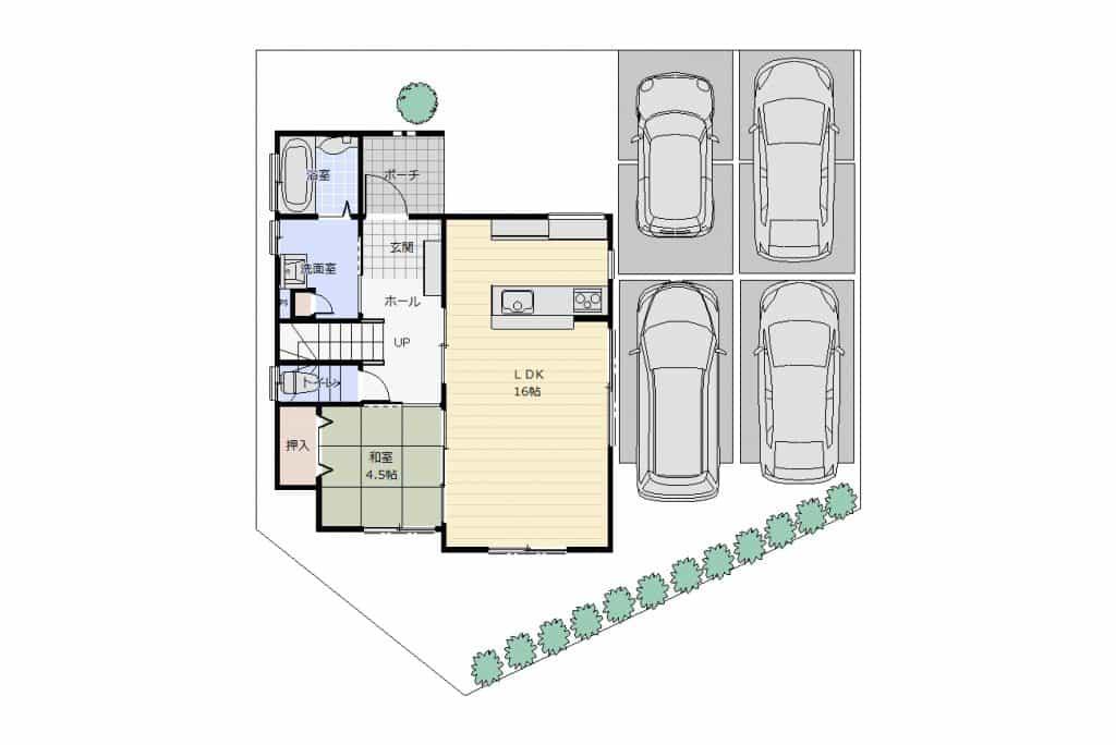 駐車場イメージ図