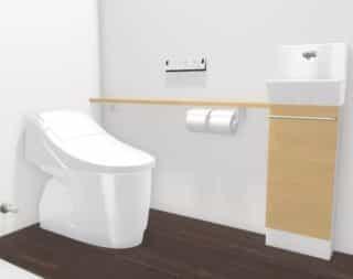1階トイレ(LIXIL)※イメージ画像