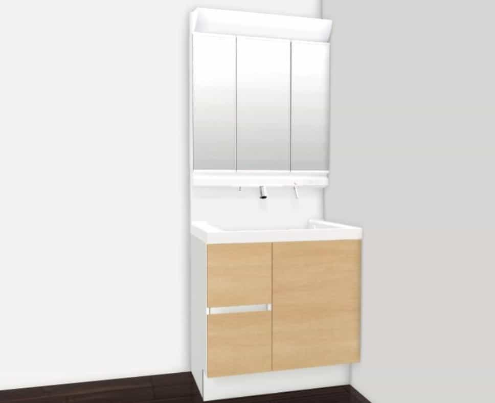 洗面化粧台(LIXIL)※イメージ画像